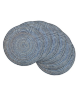 Variegated Round Woven Placemat - design imports