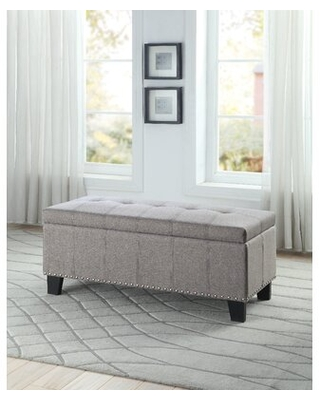 Janyce Lift Top Upholstered Storage Bench - charlton home