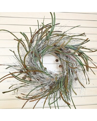 Fall Wreath With Pine Cone For Front Door Farmhouse Wreath Door Wreath - the holiday aisle