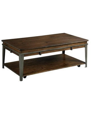 Composite Collection 979 910 RECTANGULAR LIFT TOP COFFEE TABLE in Rich - hammary