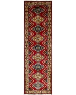 Hand knotted Finest Ghazni Wool Rug - ecarpetgallery