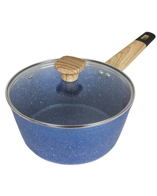 Non Stick Anodized Aluminum Saucepan with Lid - art of cooking