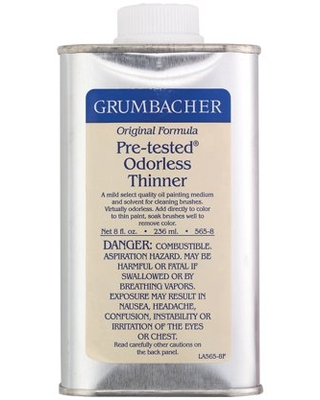 Grumbacher Pre Tested Odorless Paint Thinner - alvin & company