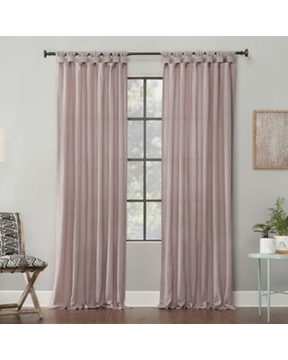 Washed Cotton Twist Tab indow Curtain - archaeo