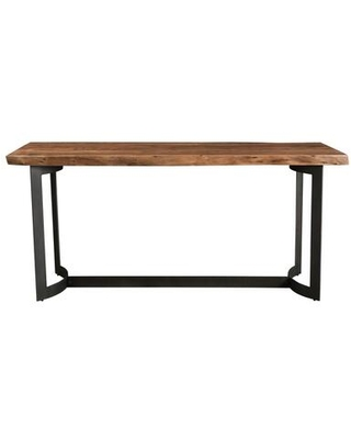Bent Collection VE 1039 03 Counter Height Table with Iron Base - moes home collection