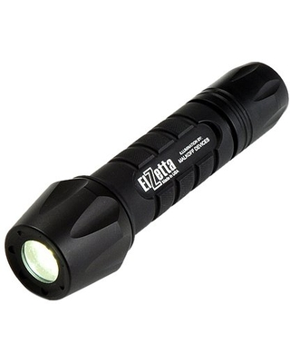ZFL M60 SF2S Tactical Weapon LED Flashlight with Flood Lens Standard Bezel 2 Cell Click High Strobe Tail Cap - elzetta