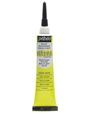 Vitrea 160 Outliners Sun Paint [ ] Quill - pebeo