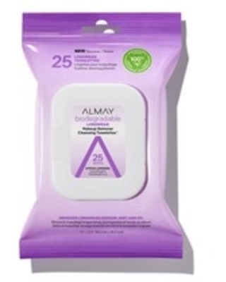 Biodegradable Longwear Makeup Remover Cleansing Towelettes 25 ct CVS - almay