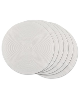 Round PP Woven Placemat - dii