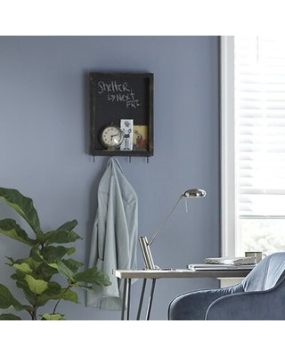 Wall Key Organizer with Wall Hooks - august grove
