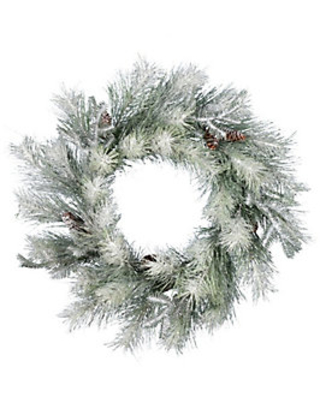 Frosted Ansell Pine Wreath - vickerman