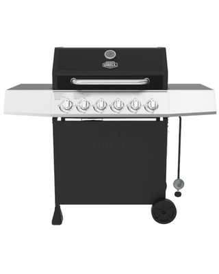 6 Burner Propane Gas Grill - expert grill