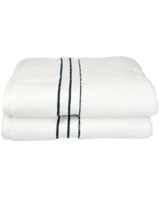 Turkish Cotton Plush 2 Piece Solid Highly Absorbent by Superior - impressions