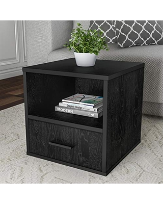 Drawer Stackable End Table - lavish home