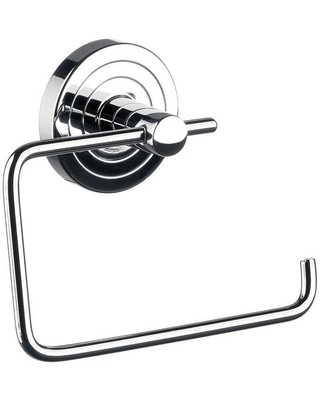 Polo Wall Mount Toilet Paper Holder in Polished Chrome - ws bath collections