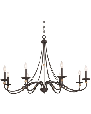 Westchester County 46 Inch 8 Light Chandelier Westchester County 1048 677 Transitional - minka lavery