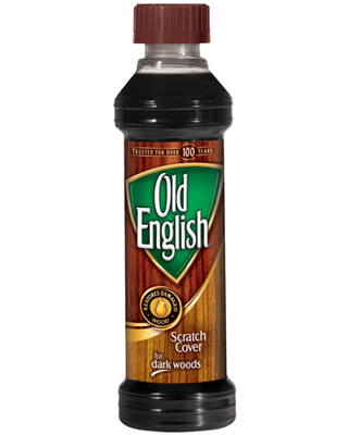 Scratch Cover for Dark Woods Bottle Wood Polish - old english