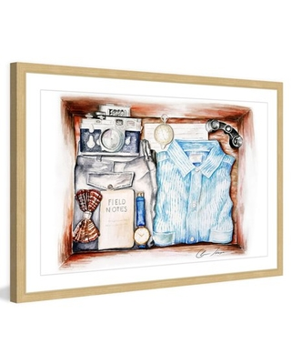 """""""Adventure Kit"""" Framed Painting Print - marmont hill"""