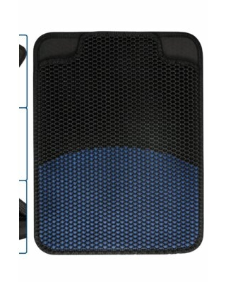 Cat Litter Mat Litter Trapper, Honeycomb Double-Layer Design Waterproof Proof Material, Easy Clean