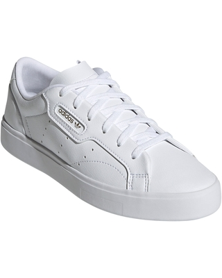 Sleek Leather Sneaker Core at Nordstrom - adidas