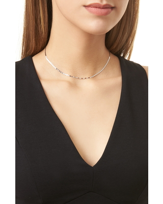 Petite Nude Chain Choker at Nordstrom - lana jewelry