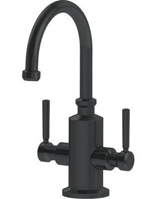 Absinthe Collection LB15220 5 GPM Deck Mounted Little Butler Hot and Cold Water Dispenser Faucet in Matte - franke