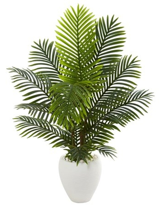 5ft Paradise Palm Artificial Tree Planter - nearly natural