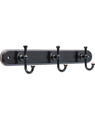 Holbrook ook Rack With 3 Hooks Oil Rubbed - better homes & gardens