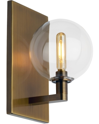 Tech Gambit all Sconce and Clear - tech lighting