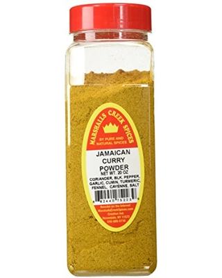 Marshall's Creek Spices X Large Size Jamaican Curry Powder - marshall's creek spices