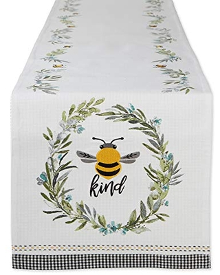 Honey Collection Kitchen Reversible Table Runner 14x108 - dii