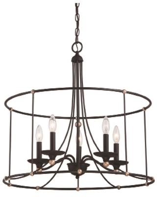 Westchester County 25 Inch 5 Light Chandelier Westchester County 1047 677 Transitional - minka lavery
