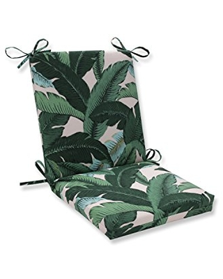 Outdoor Indoor Swaying Palms Capri Square Corner Chair Cushion 1 Count - pillow perfect