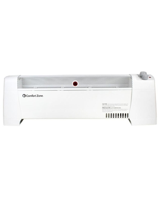 1500 Watt Convection Baseboard Indoor Electric Space Heater with Thermostat CZ600 EC - comfort zone