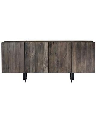 Tiburon Collection SR 1017 24 Sideboard with Iron Base in Natural - moes home collection