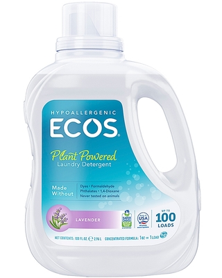 Ecos 100 Fl Oz Laundry Detergent In Lavender - earth friendly products