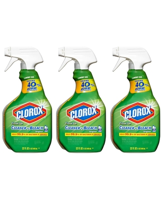 All Purpose Clean Up Cleaner with Bleach Spray 3 Pack - clorox