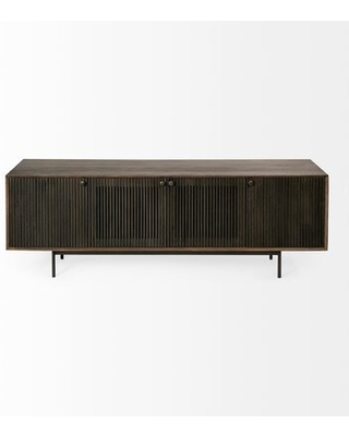 Aneila Mango Solid Wood TV Stand - 17 stories