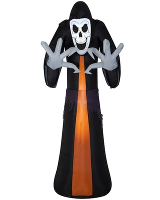 12Ft Airblown(r) Inflatable Halloween Reaper By Michaels(r) - gemmy industries