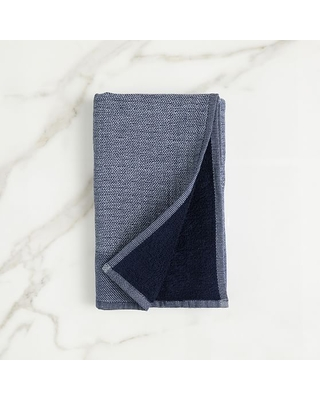 Organic Woven Towel Midnight Hand Towel - undefined