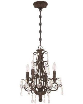 Englewood 14 Inch 4 Light Mini Chandelier Englewood 25614 FR Traditional - craftmade
