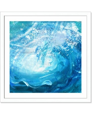 The Wave' Framed Graphic Art Print - bay isle home