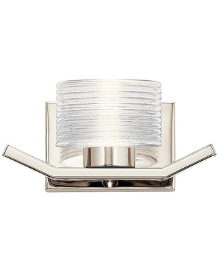 Lasus LED Wall Sconce by Finish Polished Nickel 44349PNLED - kichler
