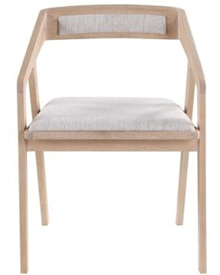 Padma Collection BC 1091 29 Armchair with Solid Oak Frame - moes home collection