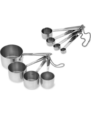 All Clad Stainless Steel Standard Measuring Cups & Spoons - undefined