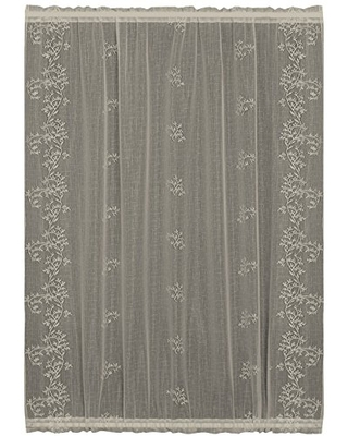 Sheer Divine Table Runner 14 by 72 Inch - heritage lace