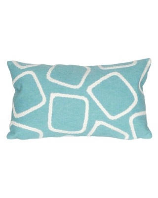 Visions I Squares Indoor Outdoor Pillow - liora manne
