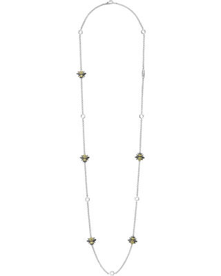 Rare Wonders Honeybee Station Long Necklace in Silver at Nordstrom - lagos