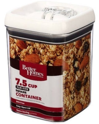 Flip Tite Dry Food Storage Container 5 cup - better homes & gardens