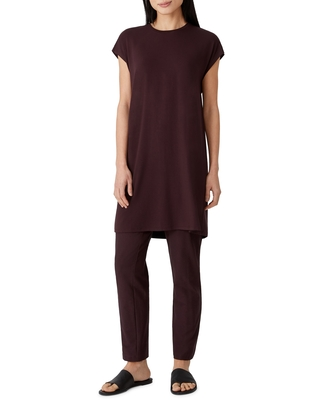 Crewneck Boxy Dress at Nordstrom - eileen fisher